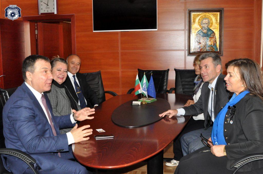 Кметът Николай Димитров и дистрикт гуверньорът на клуба обсъдиха предстоящи съвместни дейности
